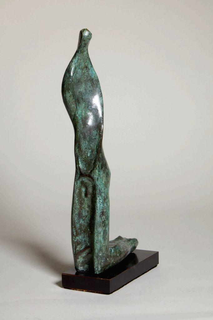 Prodosh Das Gupta, Twisted Form. (Photo Courtesy: Sotheby's) - Prodosh Das Gupta