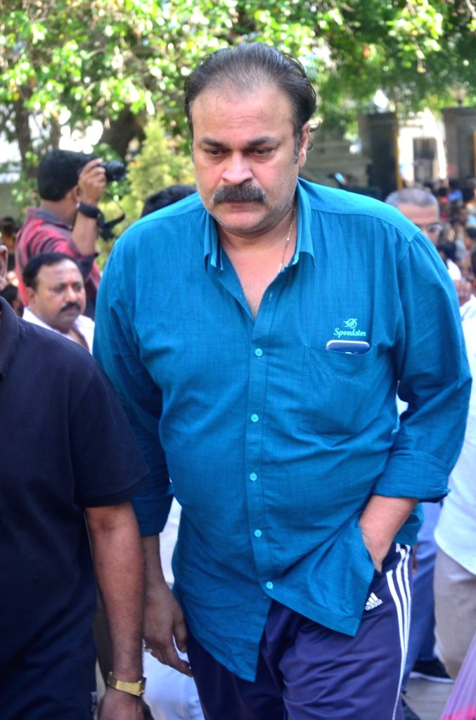 Producer, actor Naga Babu pays last respect to Dasari Narayana Rao at his residence. - Naga Babu and Dasari Narayana Rao