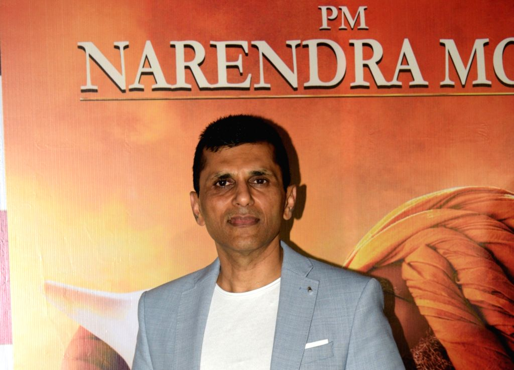 "Producer Anand Pandit at the success party of his recently released film ""PM Narendra Modi"", in Mumbai, on June 13, 2019. - Narendra Modi"