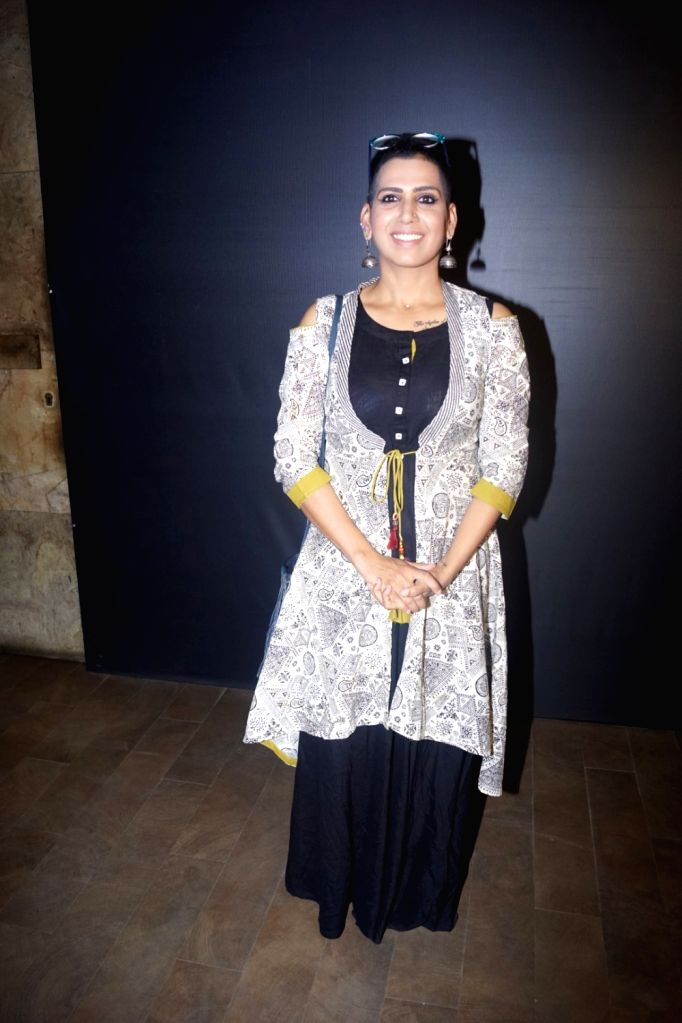 """Producer and Director Lakshmi R. Iyer at the special screening of web series """"Wrong Mistake"""" in Mumbai on Feb 13, 2018."""