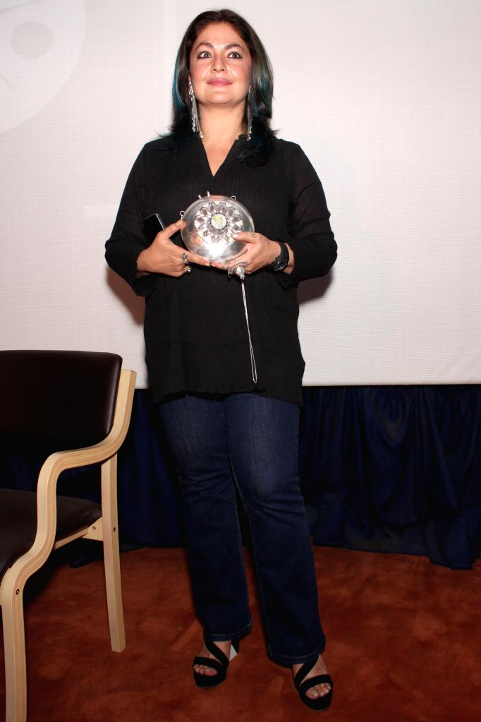 Producer and director Pooja Bhatt at the Jagran Film Festival in New Delhi on July 2, 2015.