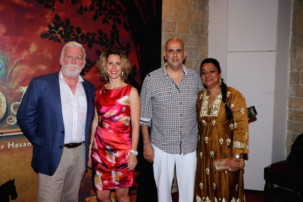 """Producer Ashvin Gidwani at the premier of his play """"Devdas"""" at the Jamshed Bhabha Theatre in Mumbai on Nov 17, 2018."""