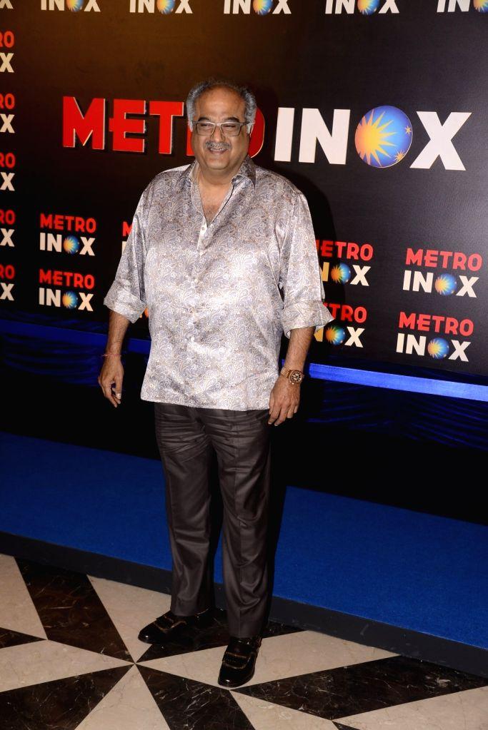 Producer Boney Kapoor at the inauguration of a cinema theater in Mumbai on Nov 29, 2017. - Boney Kapoor