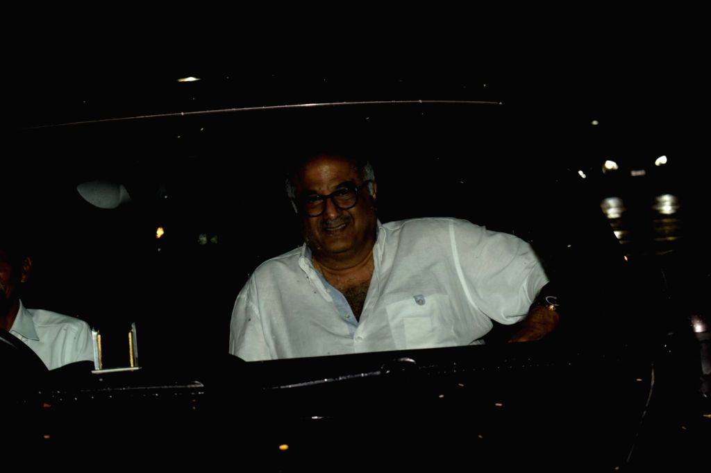 "Producer Boney Kapoor at the special screening of film ""Dhadak"" in Mumbai on July 19, 2018. - Boney Kapoor"