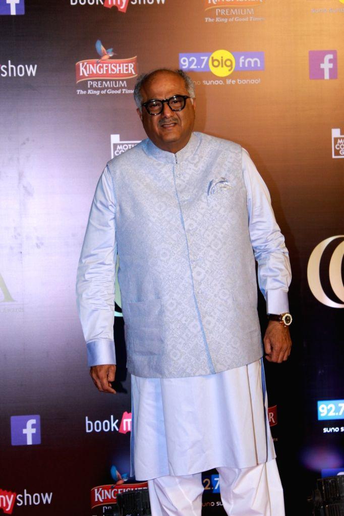 Producer Boney Kapoor on the red carpet of Critics' Choice Film Awards 2019, in Mumbai, on April 21, 2019. - Boney Kapoor