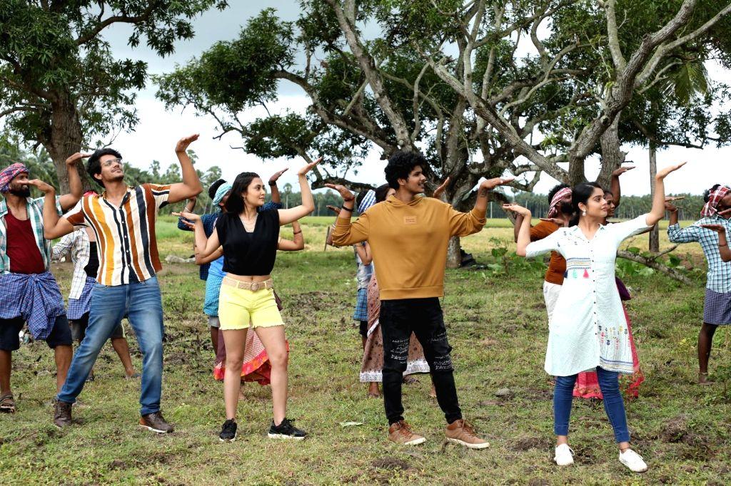 Producer Dil Raju unveils Kothi Kommachi theme number on friday, April 23, 2021.