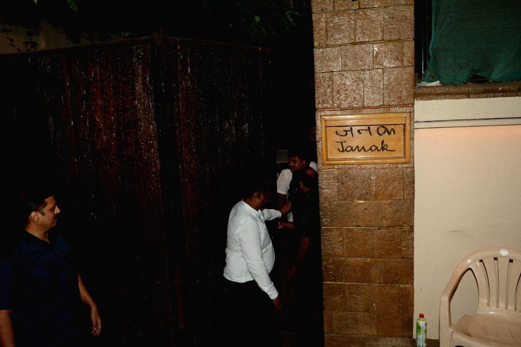 Producer Dinesh Vijan seen at actor Amitabh Bachchan's residence in Mumbai's Juhu on May 4, 2019. - Amitabh Bachchan