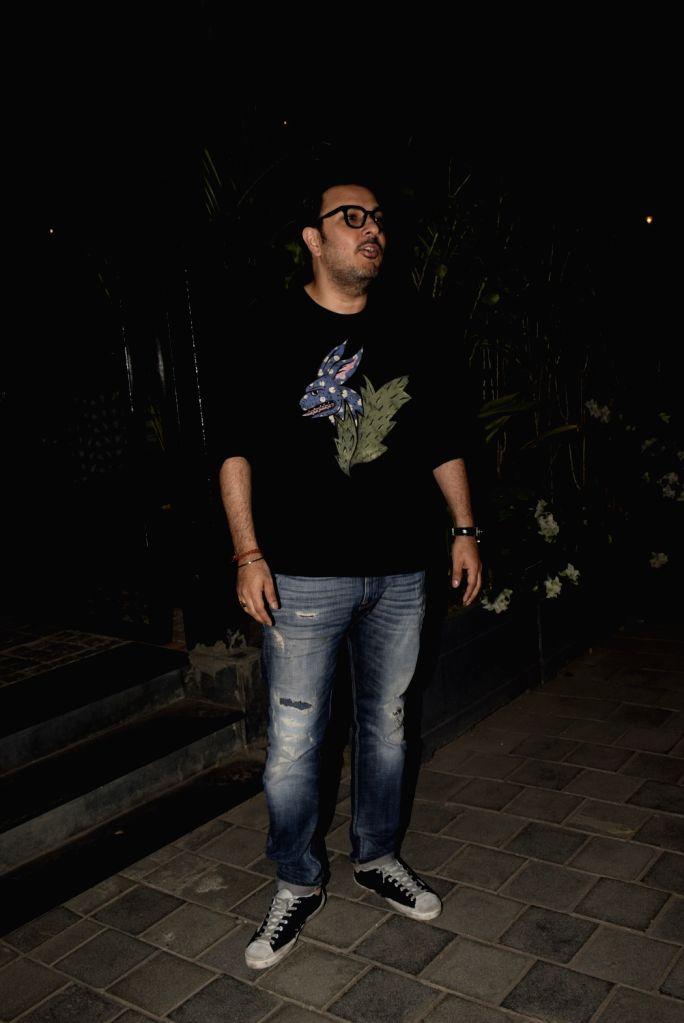 Producer Dinesh Vijan seen at Soho house in Mumbai on Feb 24, 2019.