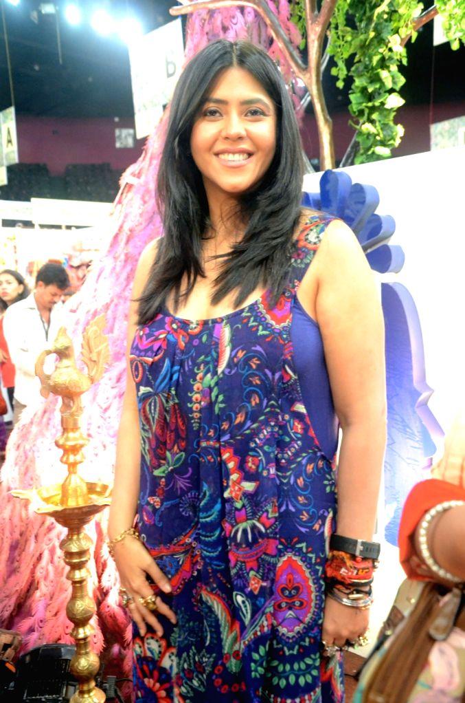 Producer Ekta Kapoor visits Ruchita Fest 2017 in Mumbai on July 6, 2017. - Ekta Kapoor