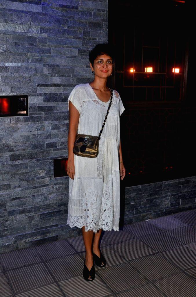 Producer Kiran Rao at Hakkasan Restaurant in Mumbai on Oct 5, 2017. - Kiran Rao