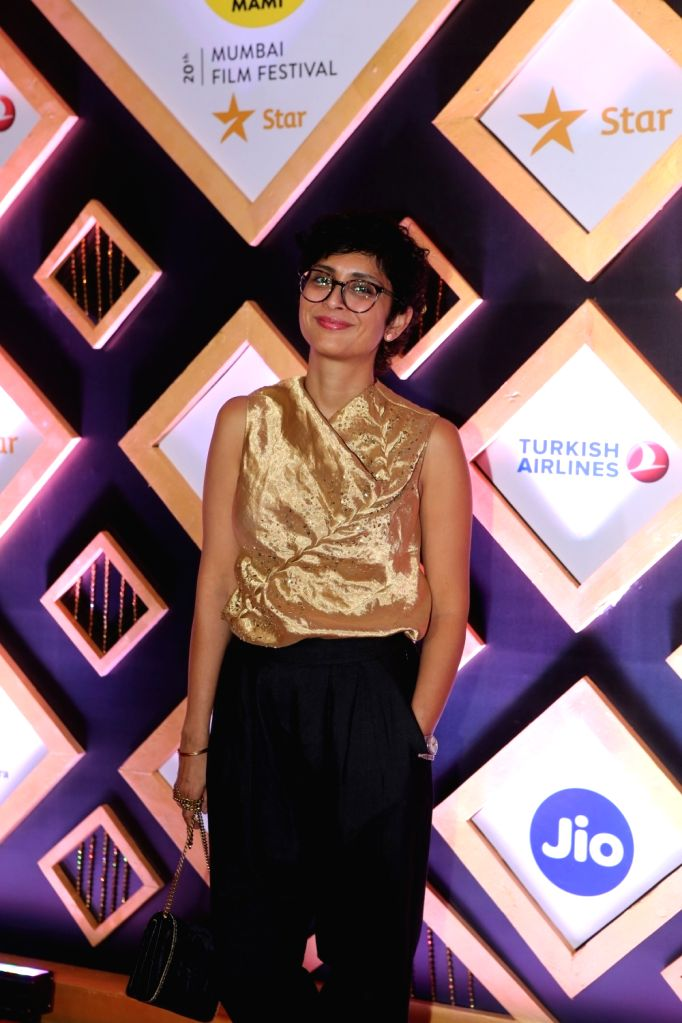 Producer Kiran Rao at the Jio MAMI 20th Mumbai Film Festival concluded in Mumbai on Nov 1, 2018. - Kiran Rao