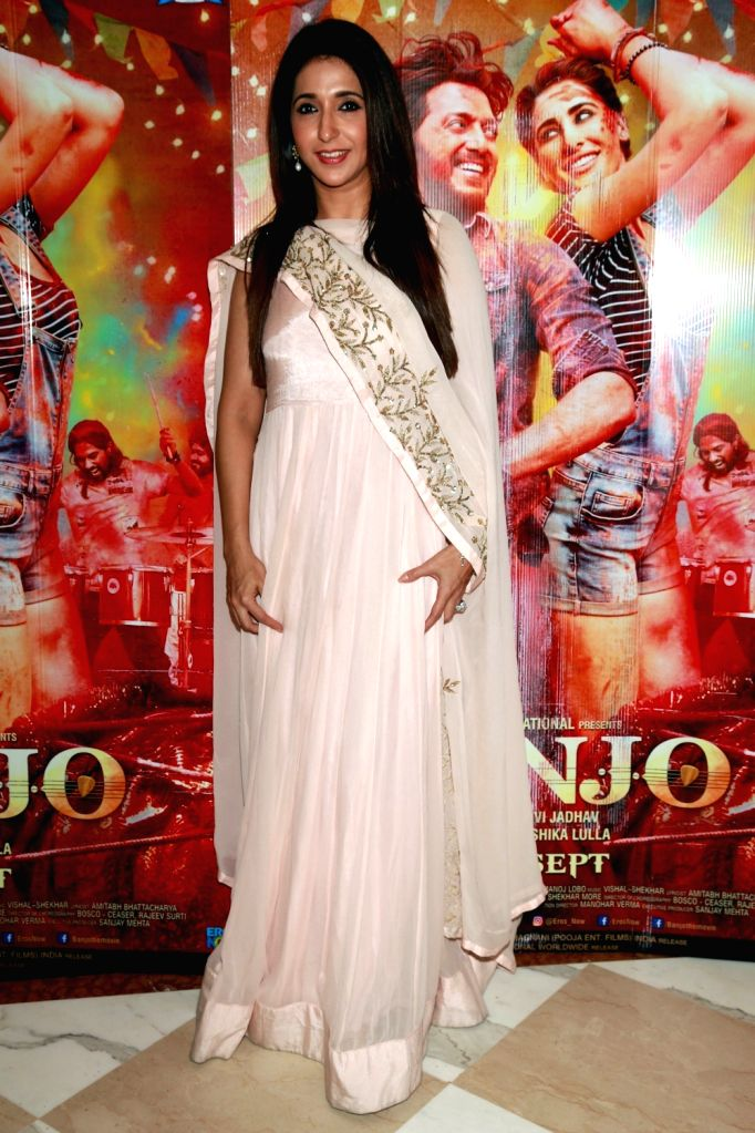 """Producer Krishika Lulla during a press confrence to promote upcoming film """"Banjo"""" in New Delhi on Sept 19, 2016."""