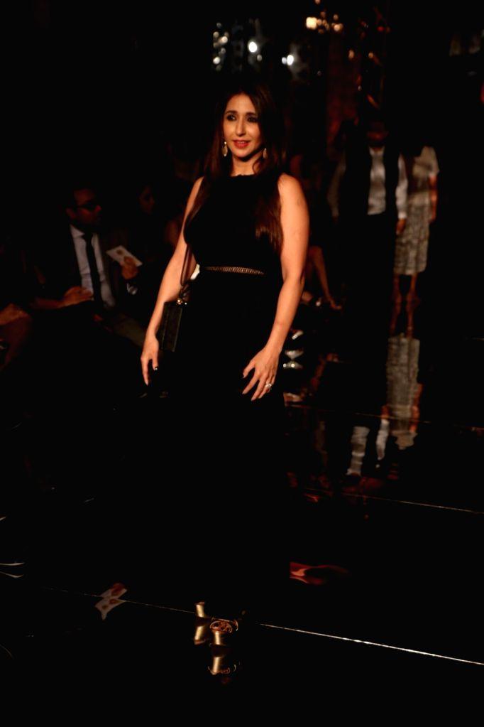 Producer Krishika Lulla during the Lakme Fashion Week Winter/Festive 2017 in Mumbai on Aug 18, 2017.