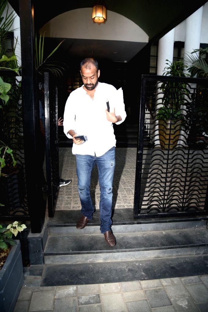 Producer Madhu Mantena Varma seen at a club in Mumbai's Juhu on  Feb 6, 2019.