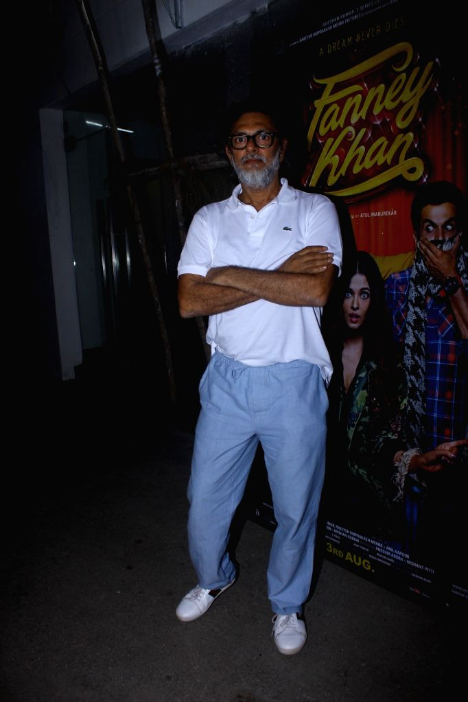 "Producer Rakeysh Omprakash Mehra at the special screening of upcoming film ""Fanney Khan"", in Mumbai on Aug 1, 2018. - Fanney Khan"