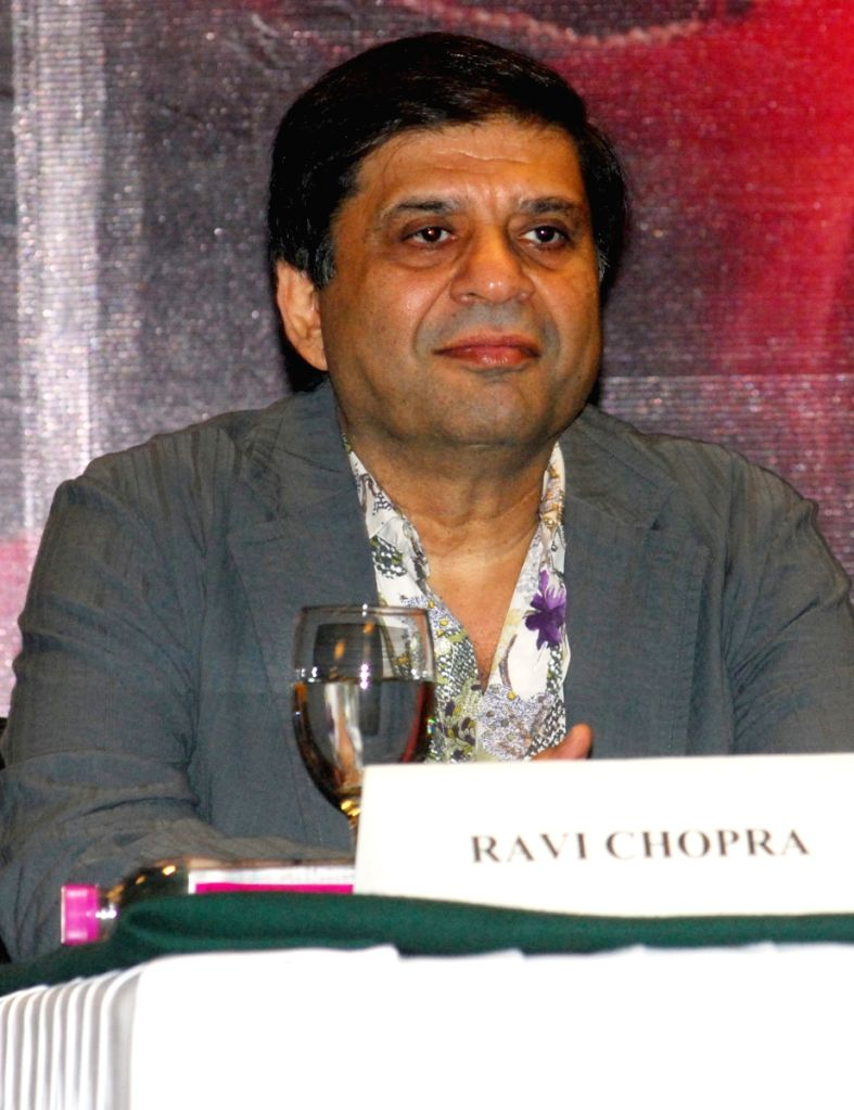 "Producer Ravi Chopra at a press conference of  Director Deepa Mehta's  new film ""Videsh-Heaven on earth"" in Kolkata on Thursday 19th Mar 09."