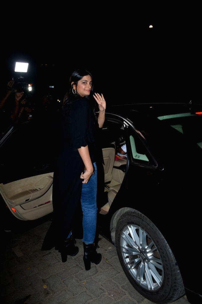 Producer Rhea Kapoor seen at a Mumbai restaurant on Feb 23, 2019. - Rhea Kapoor