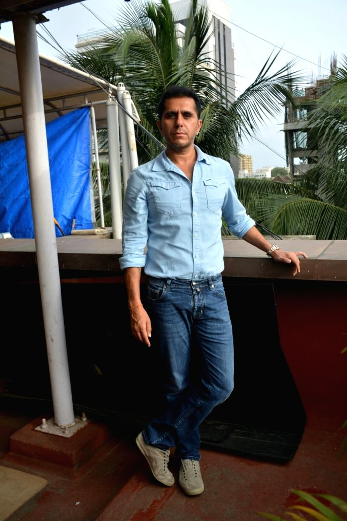 """Producer Ritesh Sidhwani at the promotion of his upcoming film """"Gold"""" in Mumbai on July 31, 2018."""