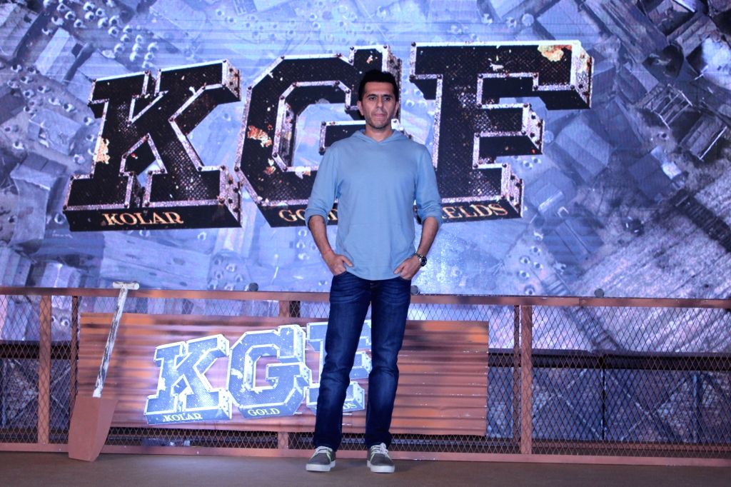 "Producer Ritesh Sidhwani at the trailer launch of his upcoming film ""K.G.F"" in Mumbai, on Dec 5, 2018."