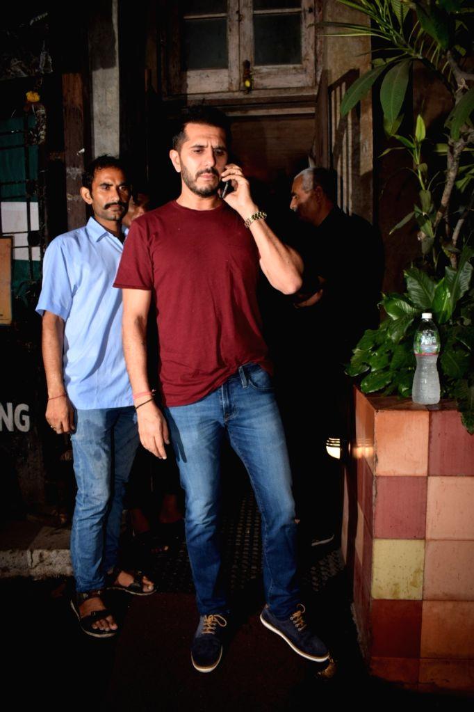 Producer Ritesh Sidhwani seen at Chhatrapati Shivaji Maharaj International airport in Mumbai on Oct 10, 2017.