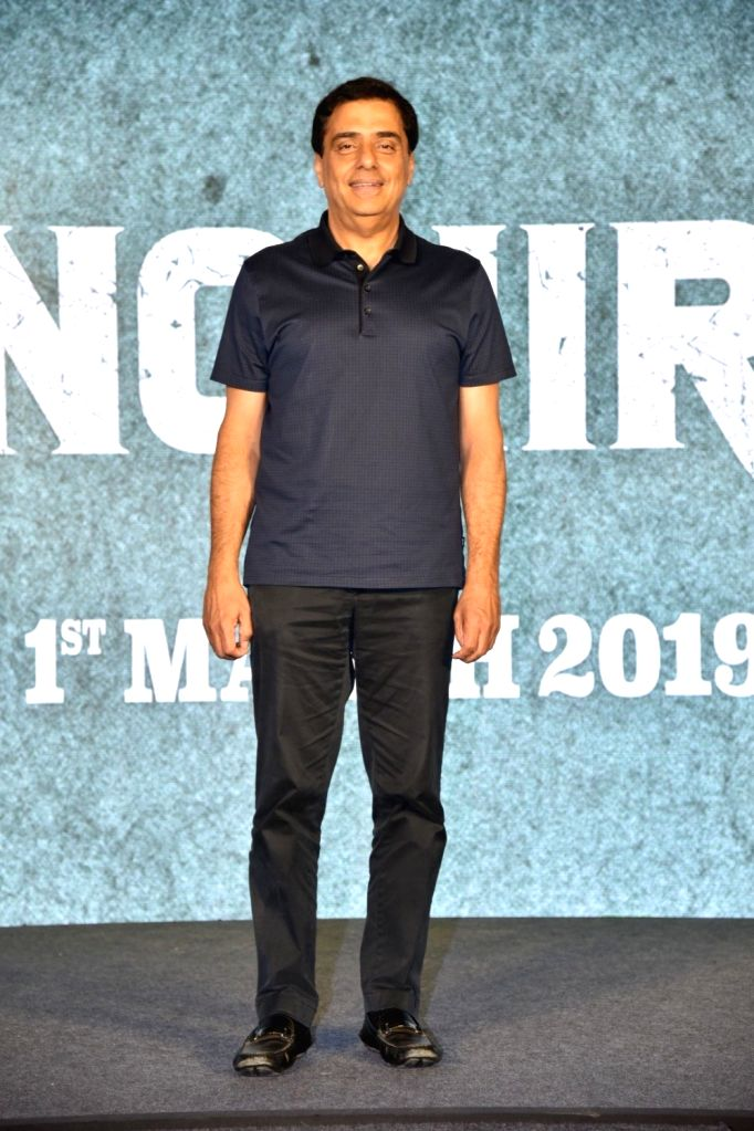 Producer Ronnie Screwvala during a press conference to promote his upcoming film 'Sonchiriya' in Mumbai, on Feb 9, 2019.