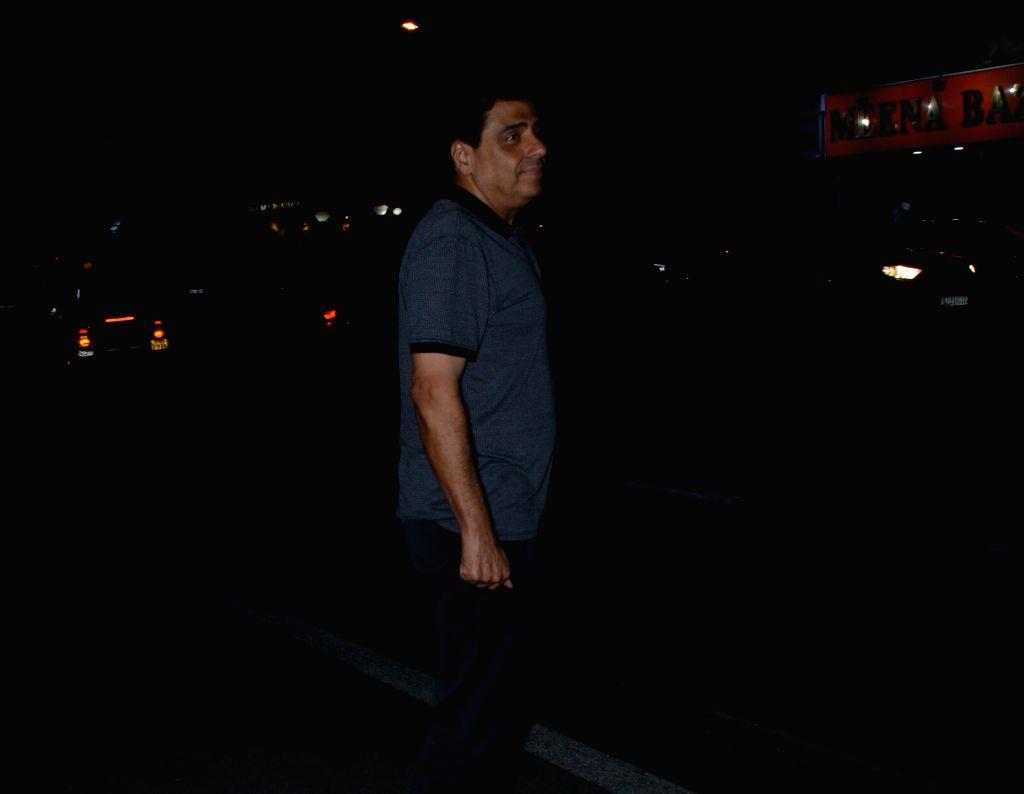 Producer Ronnie Screwvala seen at Mumbai's Juhu, on Jan 29, 2019.