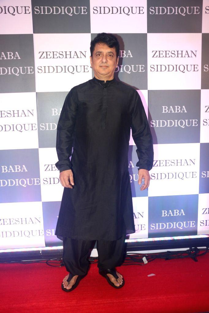Producer Sajid Nadiadwala at Congress leader Baba Siddique's Iftar party in Mumbai, on June 2, 2019.