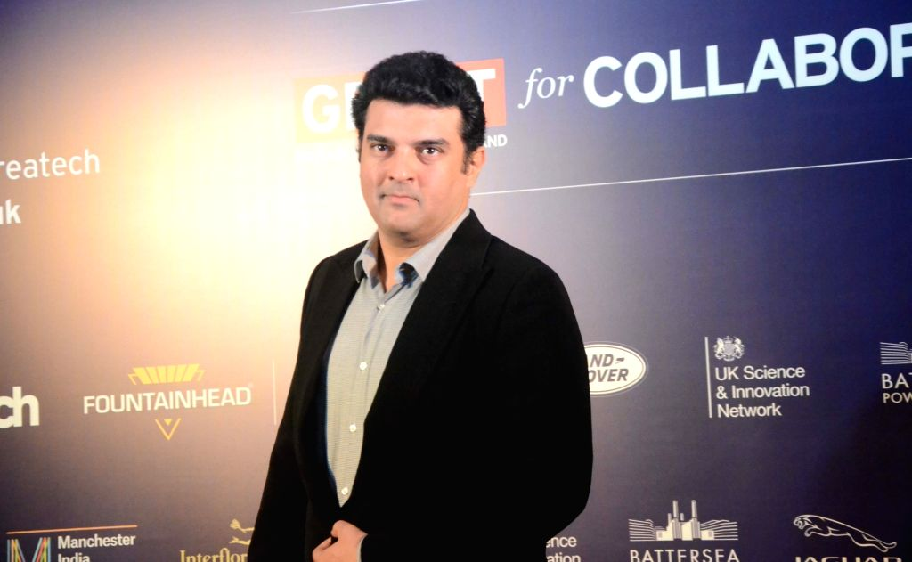 Producer Siddharth Roy Kapur during an MoU signing ceremony at the India-UK Createch Summit in Mumbai on Feb 6, 2018. - Siddharth Roy Kapur