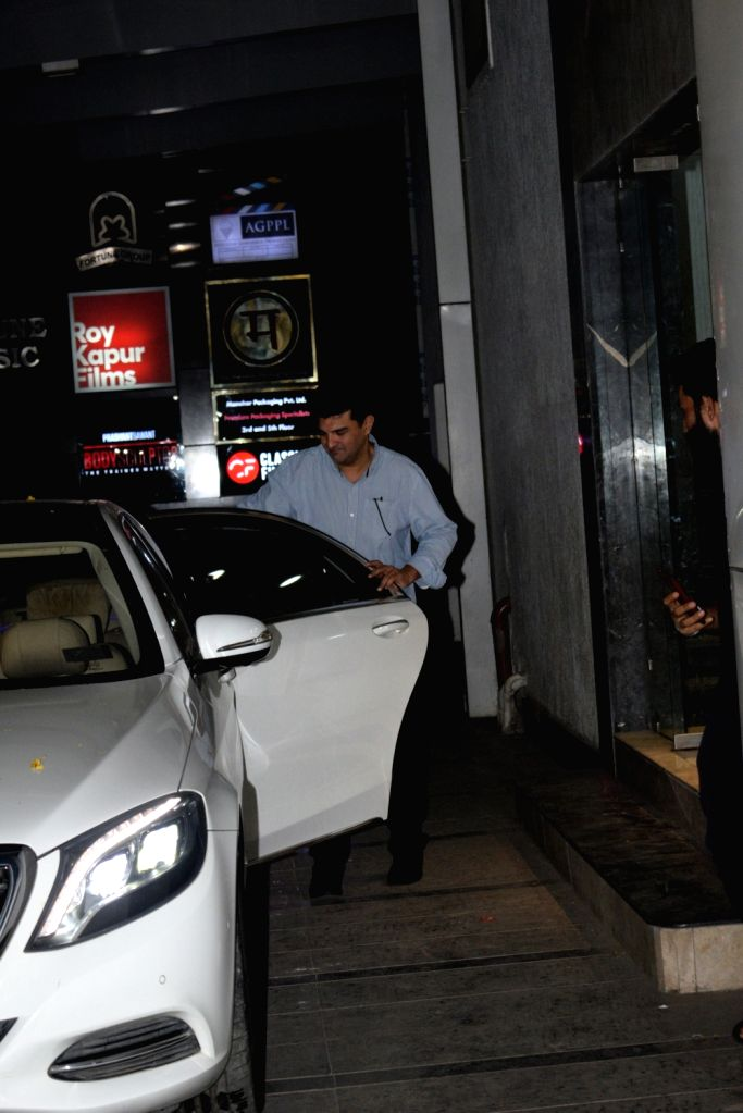 Producer Siddharth Roy Kapur seen outside his office, in Mumbai on June 6, 2019. - Siddharth Roy Kapur