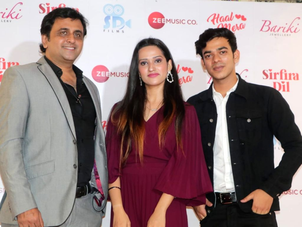 Producer Sunil Dosani's 'Hal Mera' releases from Zee Music.