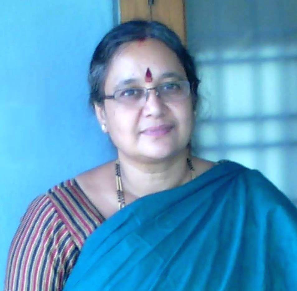 Professor Lalita Guruprasad, UoH.