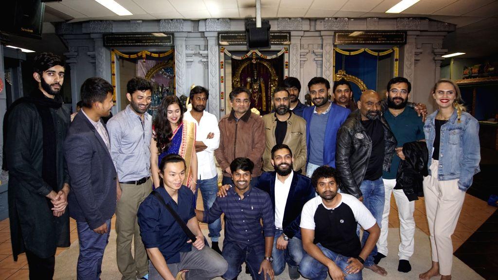 Project C 420 Movie Opening stills in Hyderabad.