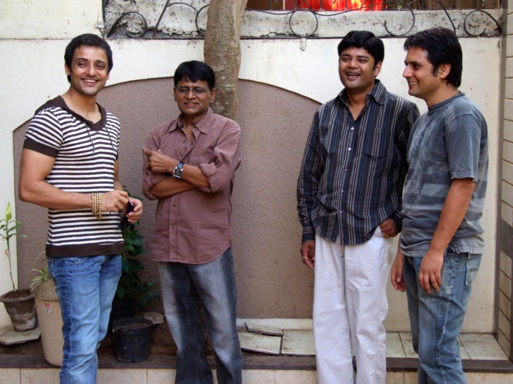 """Promotion of movie """"Dekh Bhai Dekh""""."""