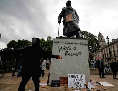 Protests break out in London against police brutality