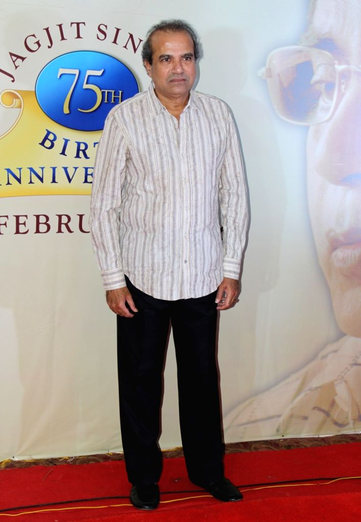 Pt. Suresh Wadkar during a press conference to announce music festival to celebrate ghazal maestro Jagit Singh`s 75th Birth Anniversary in Mumbai on January 15, 2016.