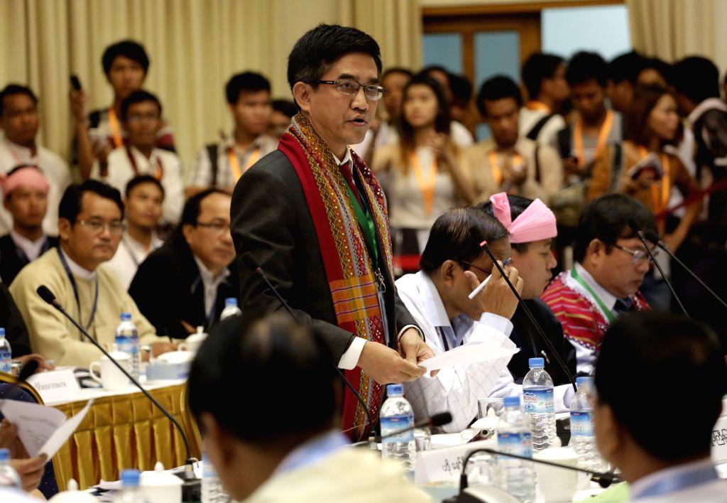 MYANMAR-YANGON-CEASEFIRE TALKS