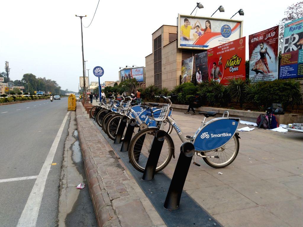Public Bike Sharing. (File Photo: IANS)