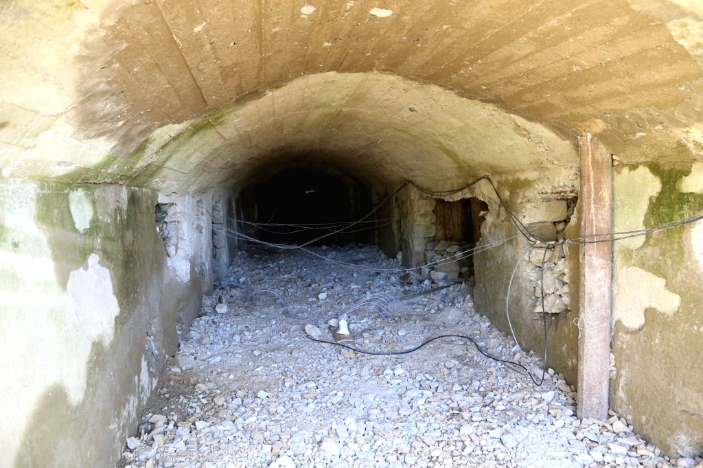 PUNGGYE-RI (DPRK), May 24, 2018 Photo taken on May 24, 2018 shows explosive devices in the No. 2 tunnel at the nuclear test site of Punggye-ri, the Democratic People's Republic of Korea. ...