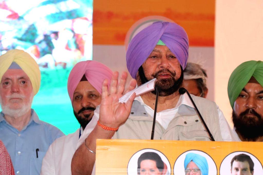 Punjab Chief Minister Captain Amarinder Singh. (File Photo: IANS) - Captain Amarinder Singh