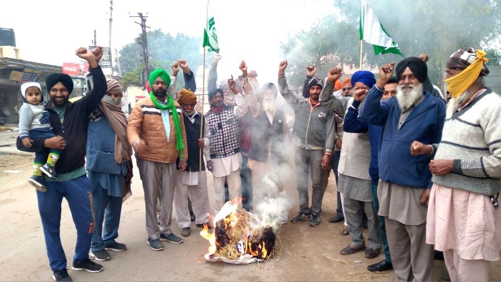 Punjab farmers protest