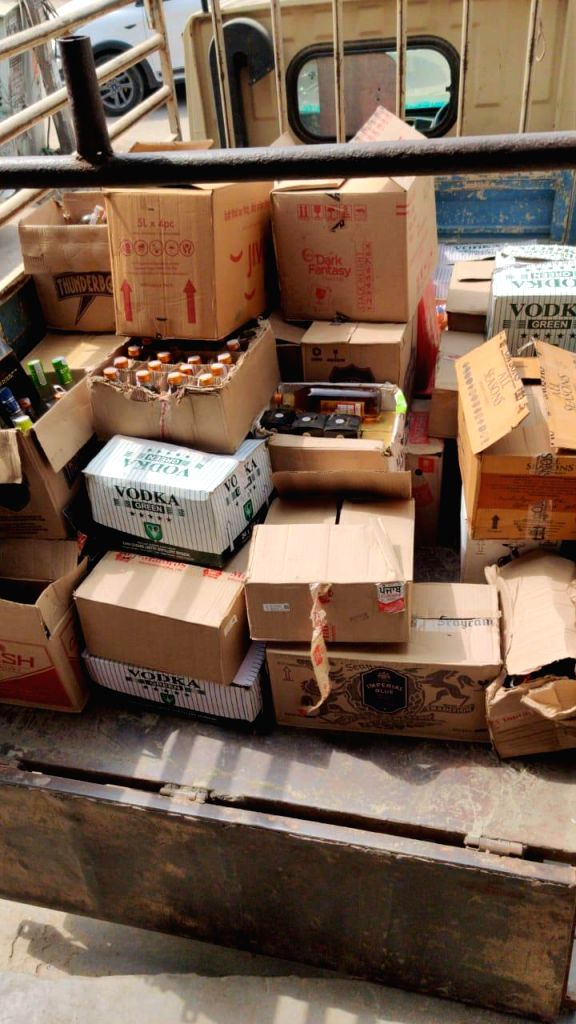 Punjab Police seize nine liquor storage centres