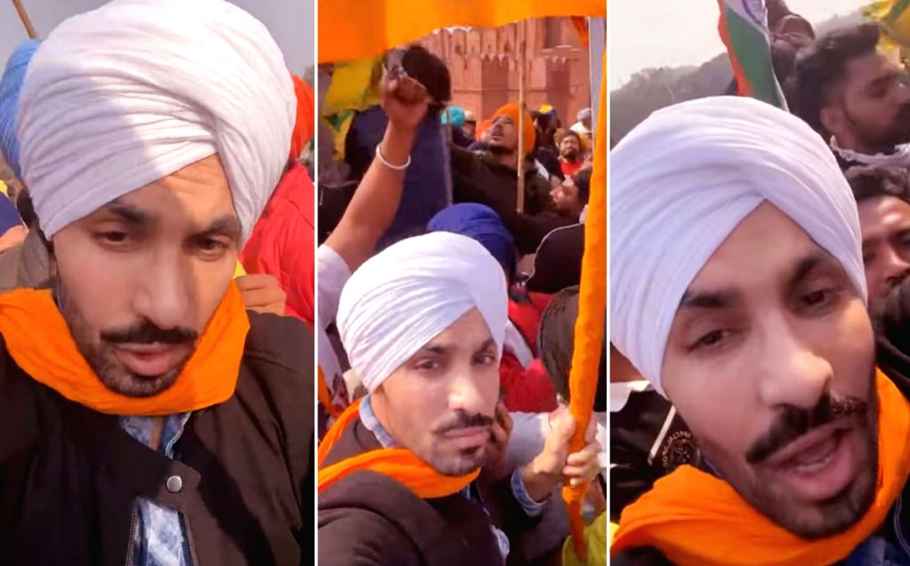 Punjabi actor Deep Sidhu. - Deep Sidhu
