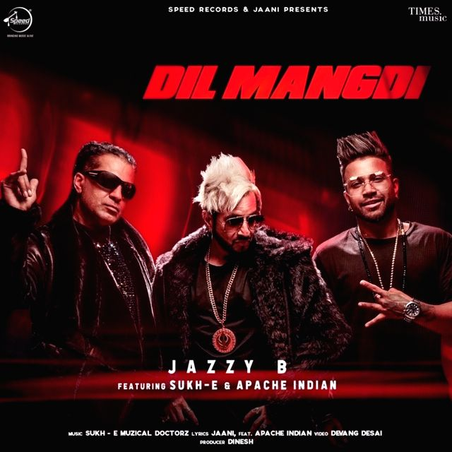 """Punjabi singer Jazzy B, Sukh-E and reggae legend Apache Indian have come out with a new song titled """"Dil Mangdi"""". """"Dil Mangdi is a fun chill track, the beats are catchy, the rap is amazing and it's been written phenomenally."""