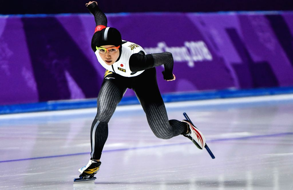 PYEONGCHANG, Feb. 14, 2018 - Kodaira Nao of Japan competes during the women's 1,000m speed skating event at the Pyeongchang 2018 Winter Olympic Games at the Gangneung Oval in Gangneung,South Korea, ...