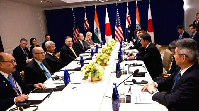 Quad holds first ministerial at UNGA.