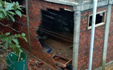 Quake jolts NE, building damages in Mizoram.
