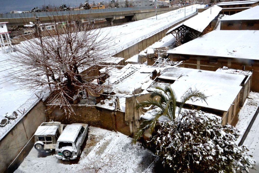 QUETTA, March 2, 2019 - Photo taken on March 2, 2019 shows a snow-covered area after a heavy snowfall in southwest Pakistan's Quetta.