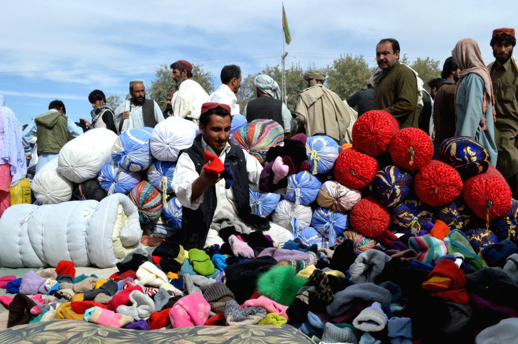 Pakistani people visit a Landa Bazaar in southwest Pakistan's Quetta, March 9, 2015. Landa Bazaar is a type of bazaar or marketplace with lowest prices where only ...