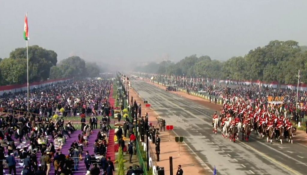 R-Day celebrations: India displays military might, diversity