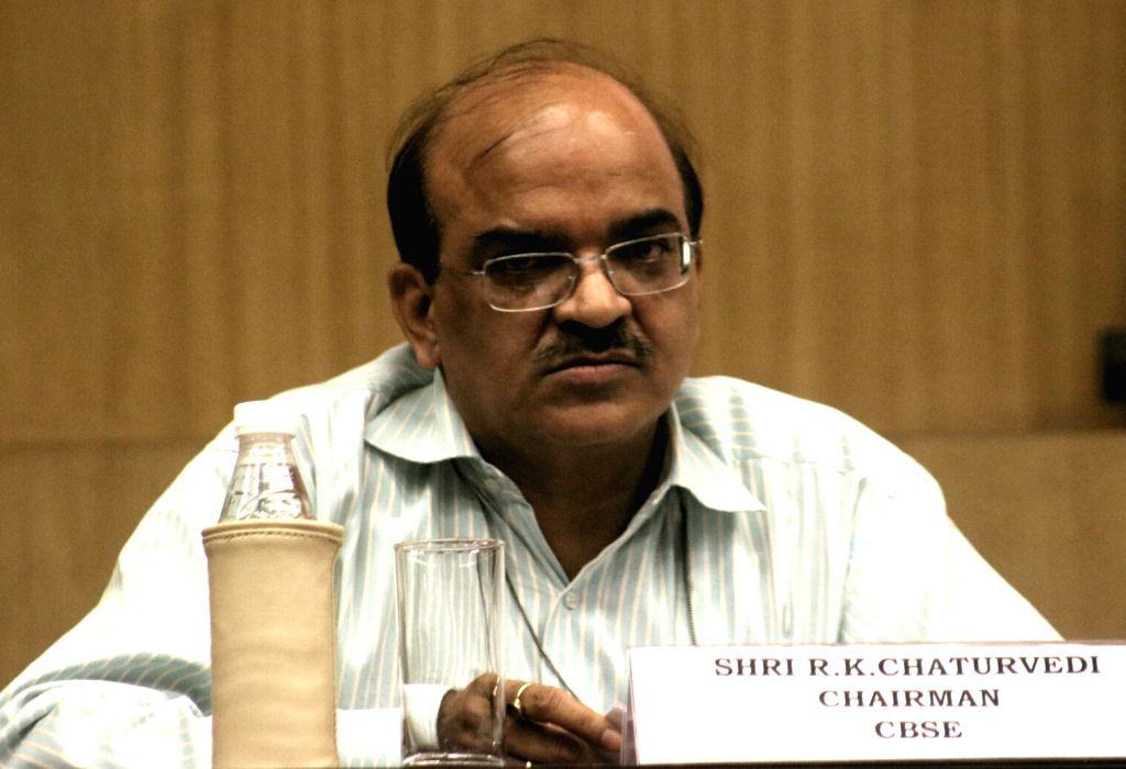 R K Chaturvedi. (File Photo: IANS)